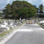 Sprintwedstrijd school Westbury begraafplaats 1